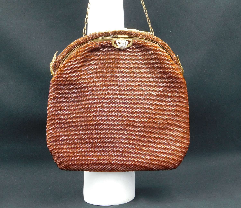1920's Art Deco Beaded Bag
