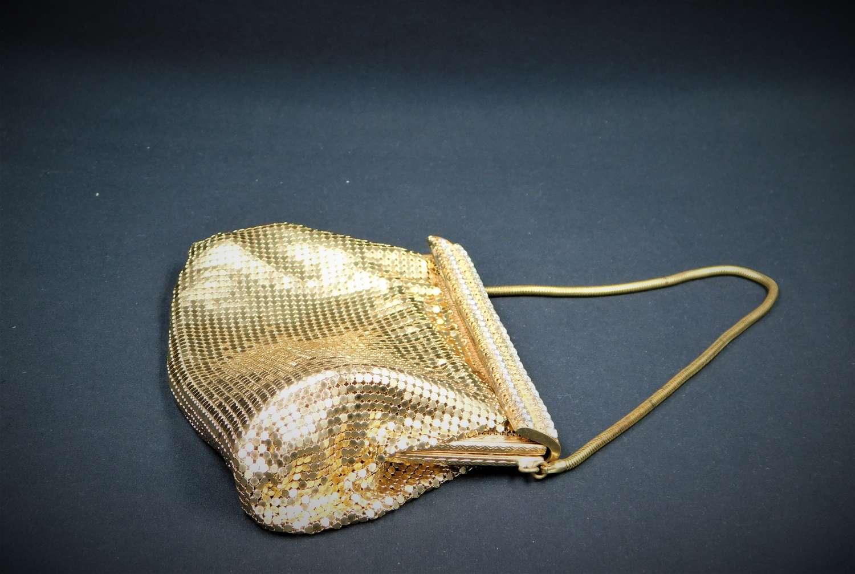 1950's Mesh and Diamante Bag