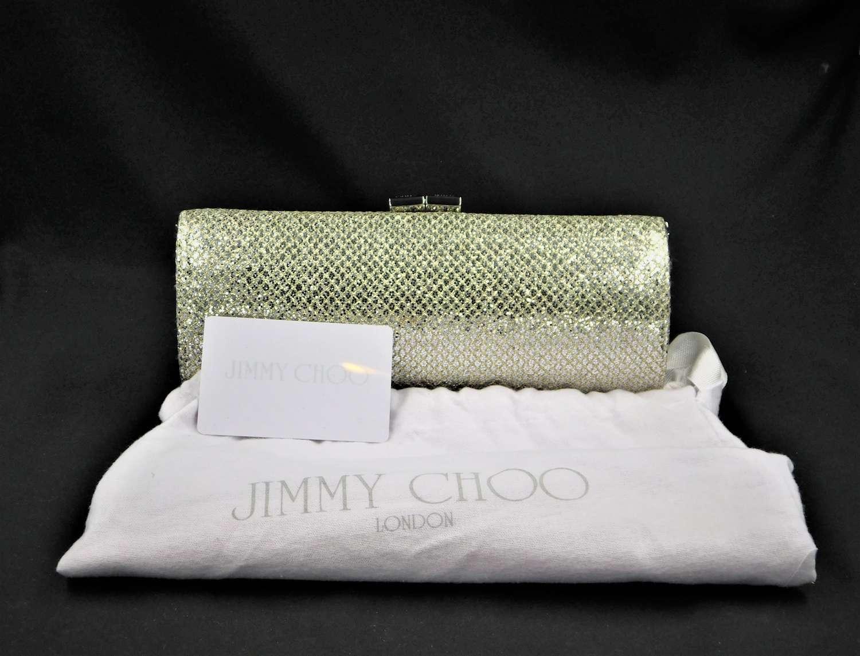 Jimmy Choo Tubu Clutch Bag