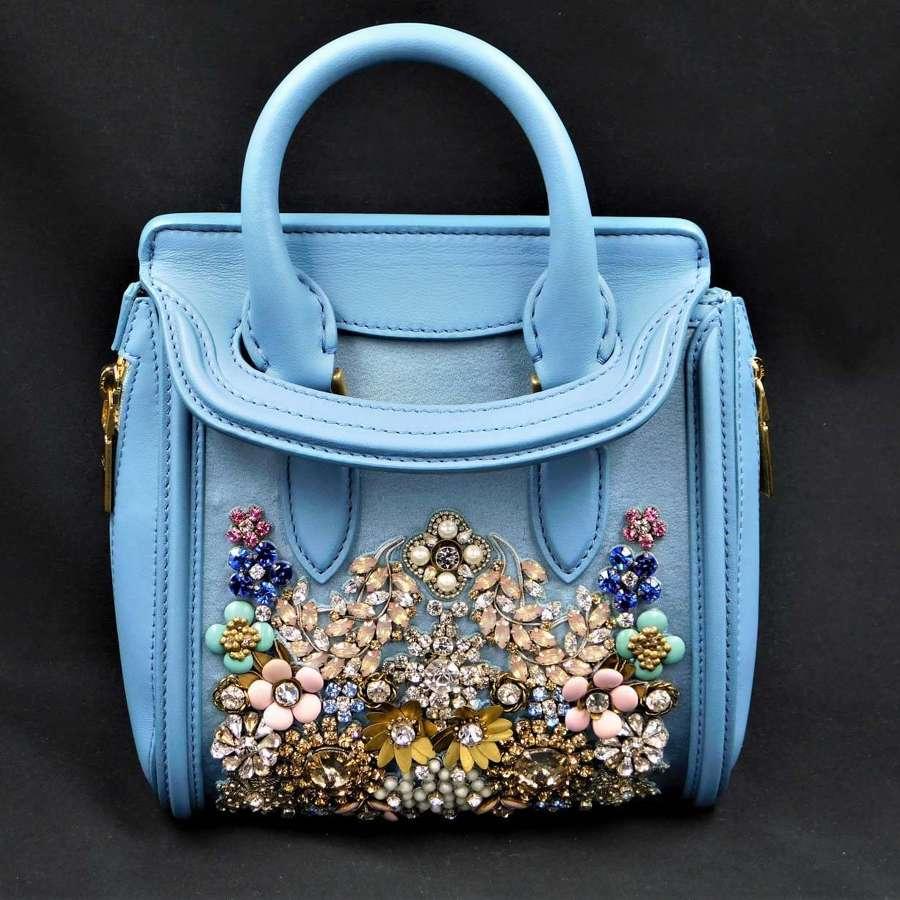 Alexander McQueen Mini Heroine Handbag