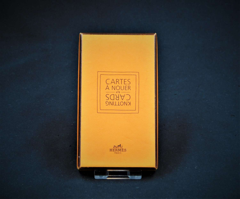 Hermes Knotting Cards No.6