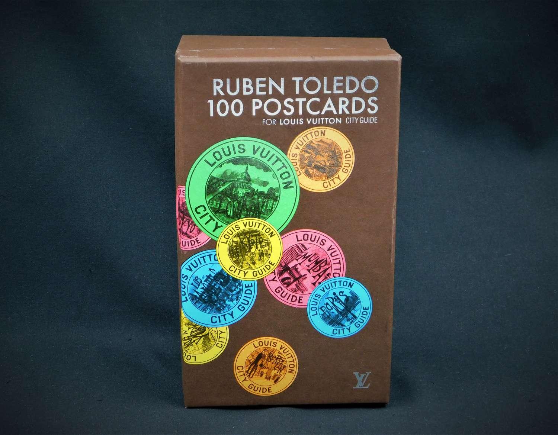 Ruben Toledo for Louis Vuitton 100 City Guide Postcards