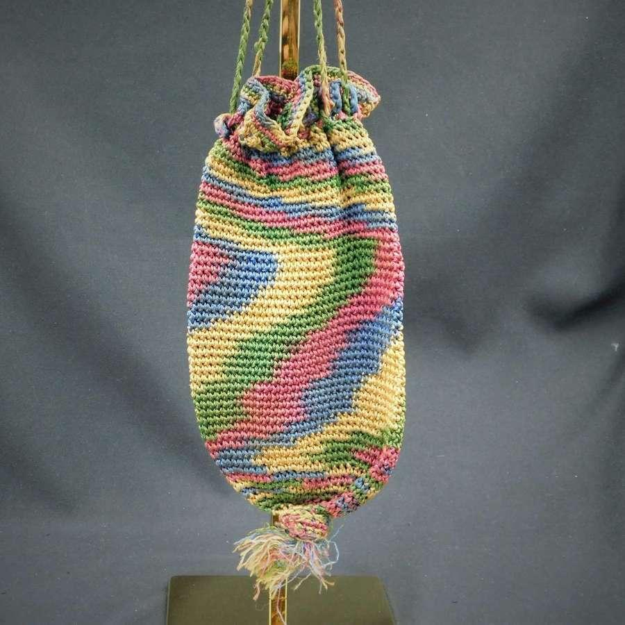 19th Century Crochet Bag