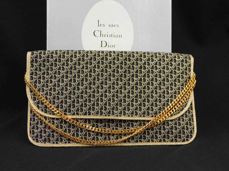 Christian Dior 1970's Les Sacs Monogram Bag