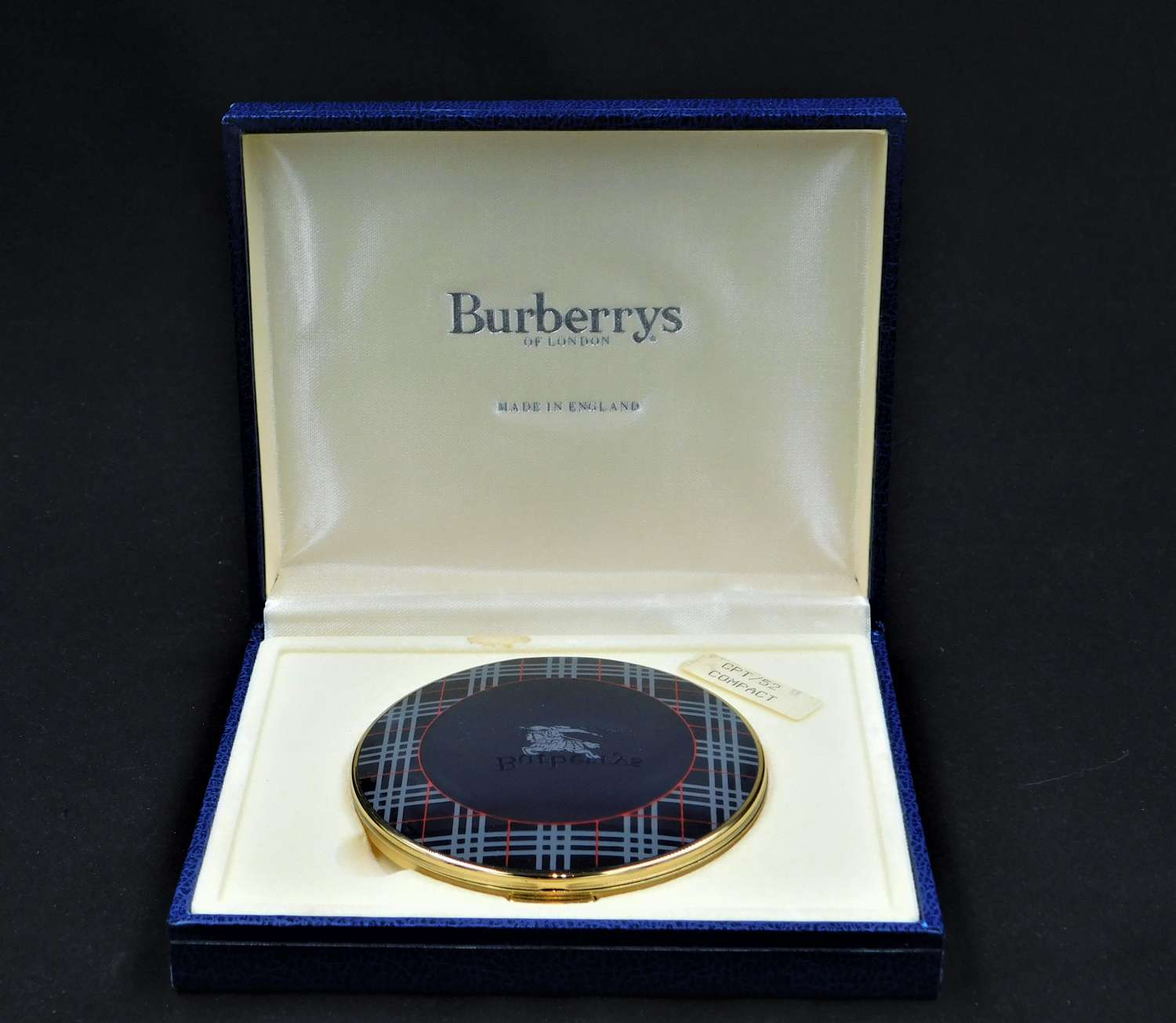 Burberry Powder Compact boxed